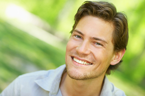 Young man smiling - Alder Dental in Vancouver, WA
